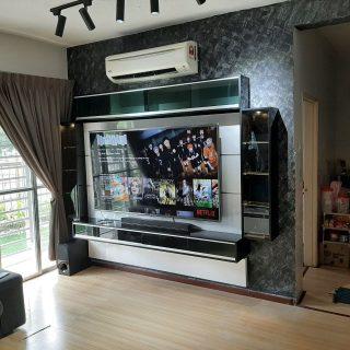 exterior paint colour idear_tv cabinet 1