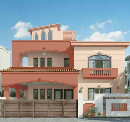 Best exterior wall colour combination