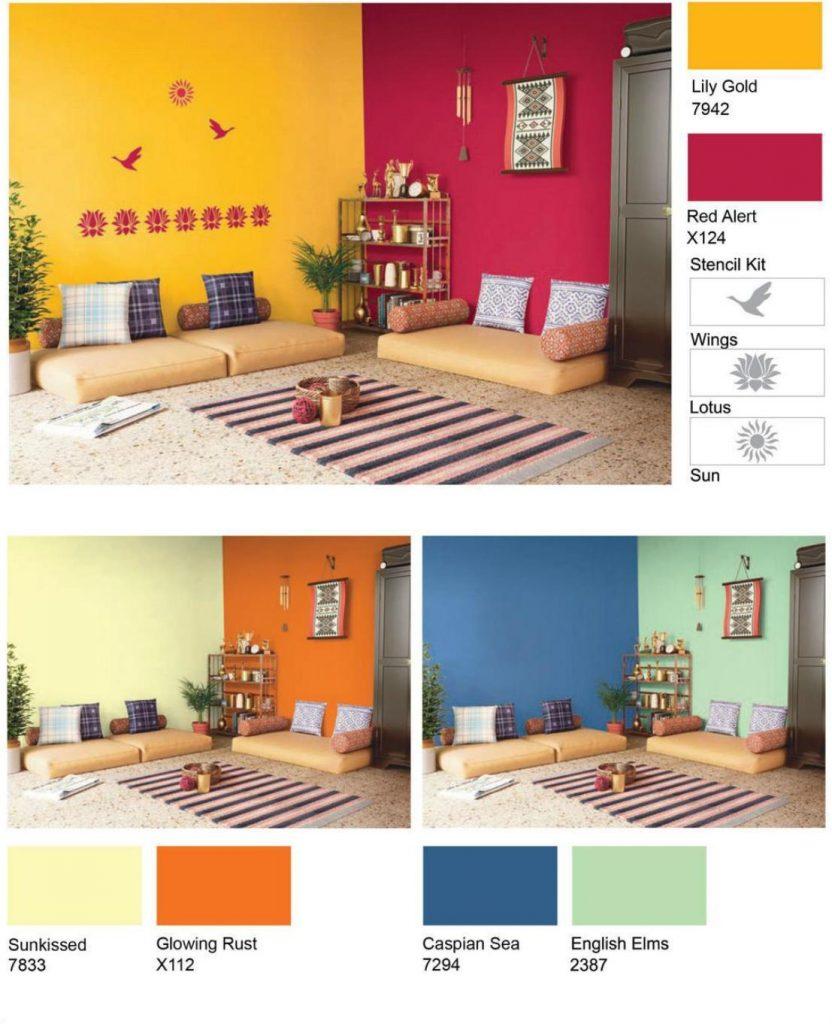 interior design colours combination ideas